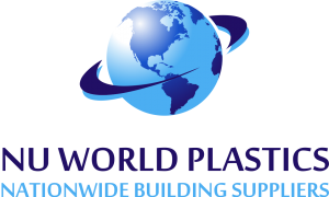 Nu World Plastics Logo with Nationwide Building Suppliers