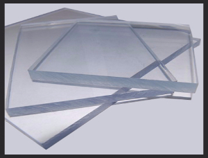2440mm x 1220mm Solid Clear Polycarbonate