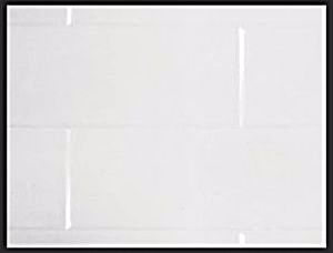 Tilepanel Brick, Bevelled White Vertical 510-MTPBVWH